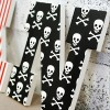 Jolly Roger Pirate Wooden Name Letters