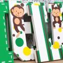 Little Monkey Wooden Letters