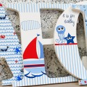 Ahoy Matey! Nautical Letters