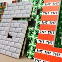 Pixel Blocks wooden letters