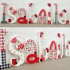 Red & Black Ladybird Wooden Letters