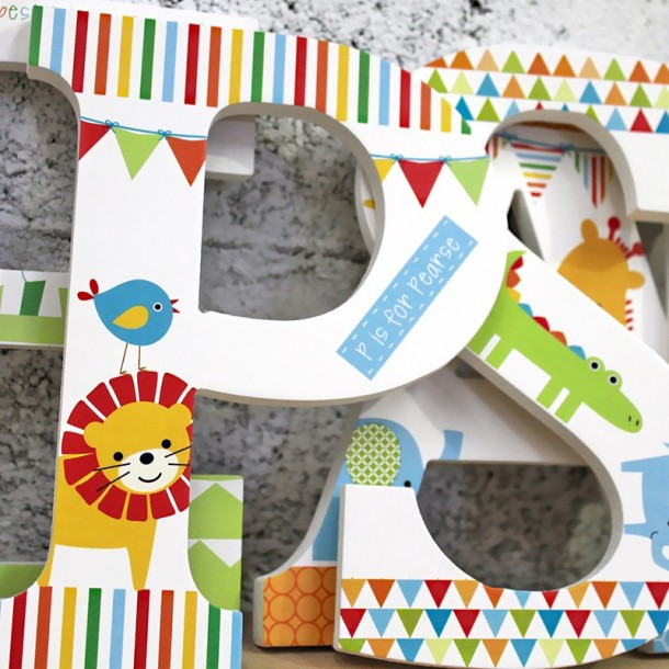 Jungle Fun Wall Letters