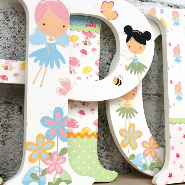 Flower Fairy Letters