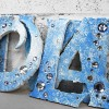 Ice Princess Wall Letters