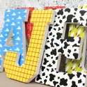 Play Story Patterned Letters