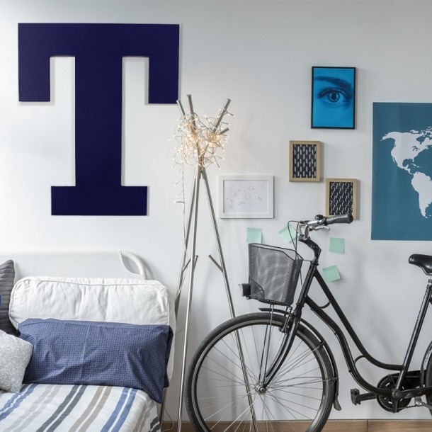 Rockwell GIANT Painted Letters