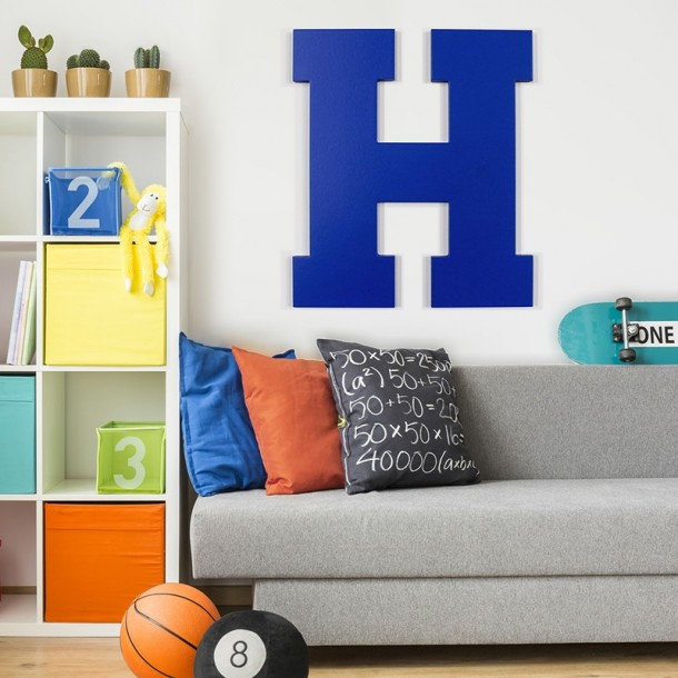 Varsity font GIANT Painted Letters