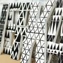 Monochrome Geometric Letters