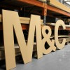 Arial GIANT Unpainted mdf letters