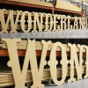 Circus GIANT Unpainted mdf letters