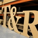 Georgia GIANT Unpainted mdf letters