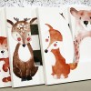 Watercolour Woodland Animals Letters