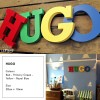Bright Colourful Letters for Child's Bedroom Wall