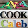Wall Decor Letters Painted Georgia Style
