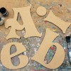 Storybook MDF letters