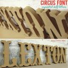 CIRCUS carnival wooden wall letters