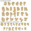 Kruffy Unpainted Mdf Wall Letters