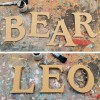 caxton MDF wooden wall letters