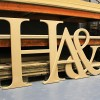 Times Carved GIANT Unpainted mdf letters
