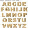 Unpainted FreeStanding letters - Arial font