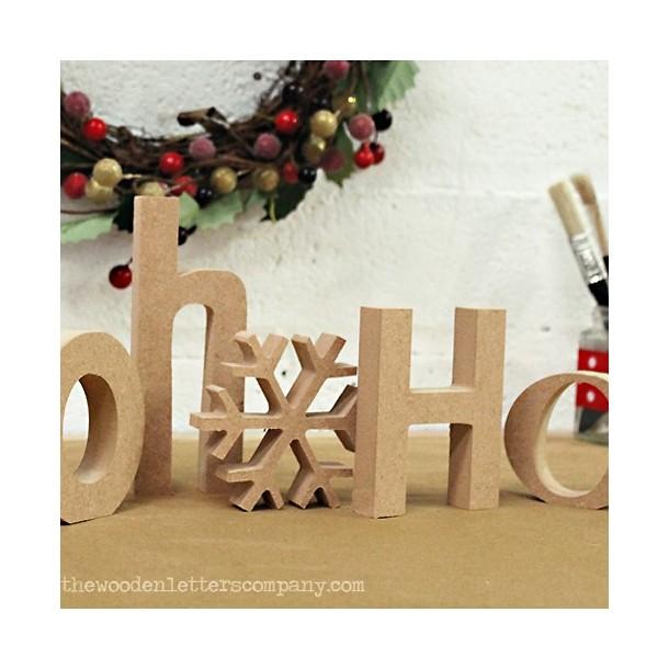 Hohoho Unpainted Letters