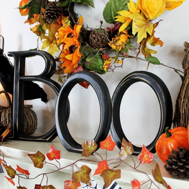 Halloween Decorative Boo Letters