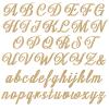 Unpainted Lola Script Joined Letters
