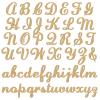 Unpainted Lauren Script Joined Wooden Letters