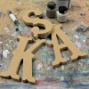 Circus Unpainted Mdf Wall Letters