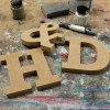 Rockwell Unpainted Mdf Wall Letters