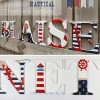 Classic Nautical Wooden Wall Letters