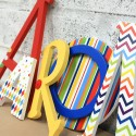 Bright Eclectic Mixed Size & Font Letters