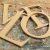 Times Roman Unpainted Mdf Wall Letters