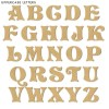Fairytale Unpainted Mdf Wall Letters