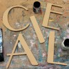 Parisian Unpainted Mdf Wall Letters