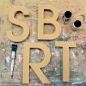 Avant Garde Unpainted Mdf Wall Letters