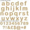 Arial Rounded Unpainted mdf letters