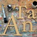 Garamond Unpainted Mdf Wall Letters