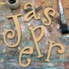 Quirky Unpainted Mdf Wall Letters