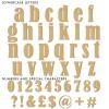 Bernard Unpainted Mdf Wooden Letters