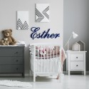 Allegro Script Joined Wall Letters