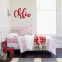 Magnolia Script Joined Wall Letters