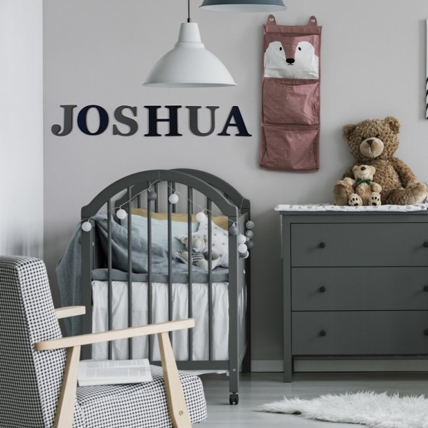 Georgia Bold Painted Wall letters