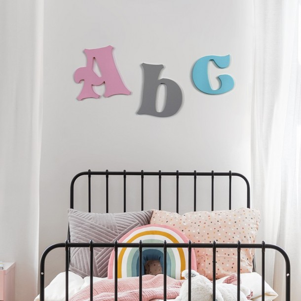 Fairytale Painted Wall Letters