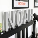 Fresh Freestanding Painted Wooden Letters