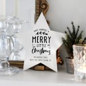 """""""Have Yourself a Merry Little Christmas"""" Personalised Wooden Star"""