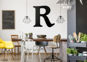 a-giant-letter-in-dining-ro